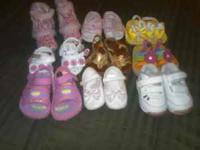used baby shoes in good condition $1 each pair size are