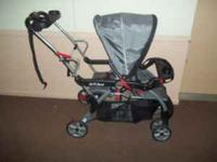 I have for sale a BabyTrend Sit and Stand Stroller for