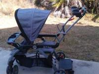 For sale is a sit n stand stroller that my kids have