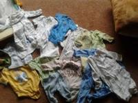 I have babyboy items. 0-3 months. Clothes sleepers