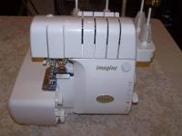 I am selling my Babylock Imagine Serger as I just don't