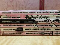 Babymouse Books in good condition 1,3,4,5,7,10