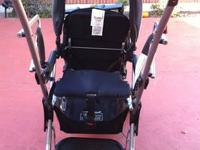 BabyTrend double stroller with regular seat in the