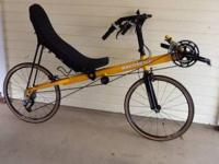 2009 Bacchetta Corsa 24 recumbent. Very low mileage and