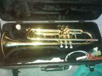 Used Bach Aristocrat TR600 trumpet,cleaning supplies