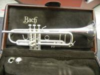 Up for sale is a good Bach Strad 37 Trumpet. It has the