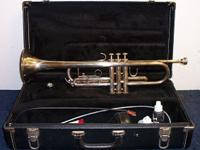 Bach TR300 Trumpet. Very good condition. It has been