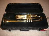 For Sale: Bach trumpet with hard shell case. Trumpet is
