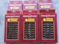 Bachman big haulers 4 boxes of straight track 2 boxes