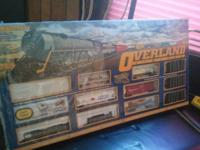Bachmann HO Overland Limited Set - Steam Engine &
