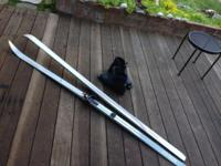 USED ONLY TWICE Karhu Back-country skis: XCD GT 210cm