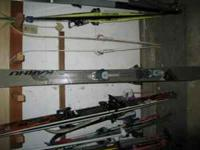 Karhu BC90 skis, 165cm length. Excellent condition