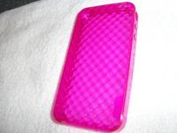 GENTLY USED LADY PINK'S BACK COVER FOR I-PHONE 4 AND