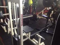 Back Extension Machine Priced to sell. Great shape,