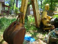 I have a mid 60's case c.king back hoe, come's with 3