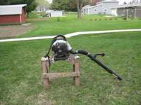 NEWER ECHO LEAF BLOWER MODEL 620 NEW CONDITION $300