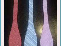 Bow-ties $15 Retail: $45 Limited quantity, assorted