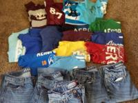 11-Aeropostale T-shirts & 4-Polo shirts, Shirts are
