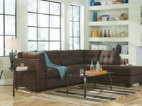 452 Microfiber Sectional  Retails: $1988 Our