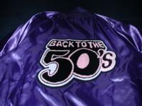 This 50's Style Classic Jacket is made of 100 % Nylon
