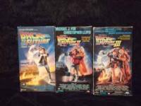 VERY COOL COLLECTABLE ORIGINAL BACK TO THE FUTURE VHS