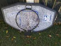 I am selling my basket ball hoop good condition. it