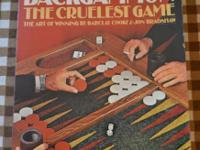 Book Good condition Papercover Backgammon The Cruelest