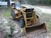 Case backhoe D100 646 series B piano hydraulics. needs