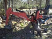 2006 Woods 7500 Groundbreaker. Two buckets included an