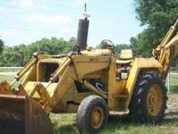 Massey Fergusen Backhoe MF70 Diesel, Runs Good