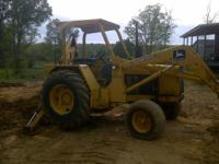 this is a 500c backhoe , call for more details  wes //