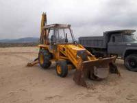 Back Hoe for sale for more info call call  between 7pm
