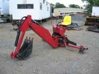 Agri Machinery CE Backhoe Attachment - Like New - Used