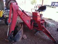 I have massey ferguson backhoe attachment for a tractor
