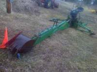 john deere model 10 quick attach with frame for tractor