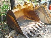 "LIKE NEW 36"" CASE BACKHOE BUCKET USED ONLY 10 HRS FITS"