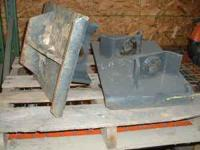 DIRT PADS FOR NEW HOLLAND BACKHOE. SET OF TWO. CALL