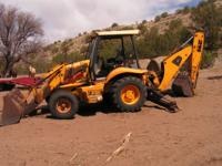 ***Owner Passed Away*** JCB Backhoe with a smaller 11