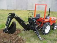 Brand New Jinma LW-6 Backhoe. Works great on most