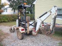 For sale, Go-for-Digger Towable backhoe. Fully