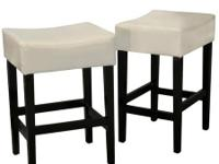 Brand New Includes two counter stools Sturdy wooden
