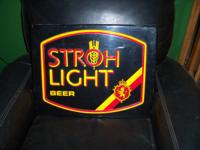This beer sign, although it looks like a neon sign at a