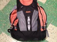 Cabela knapsack with hydration bladder. Huge sized. 2