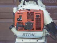 stihl blower heavy duty  no emails  Location: