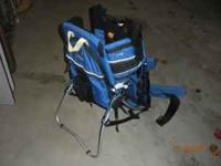 Backpack Carrier used for hiking - in great condition