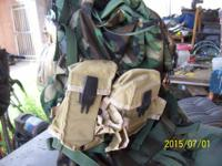 large backpack like new internal frame also comes with