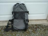 Coleman mountaineer backpack. My son used it once and
