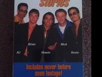 I've got on vhs backstreet boys stories never before