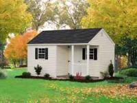 We have lots of styles and colors. Garages, horse sheds