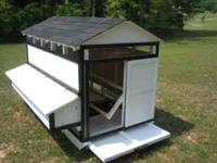 "The ""HOMESTEAD"" coop will hold up to 12 medium hens. It"
